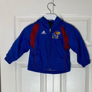 Adidas Children's Kansas University Zip Up Jacket
